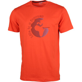 High Colorado Garda 4 Kortærmet T-shirt Herrer orange